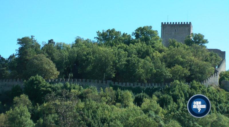 Vestígios da Idade Média, no Castelo de Leiria / Portugal