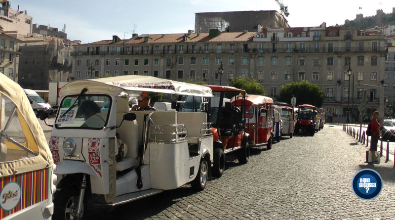 Os tug tuks de Lisboa